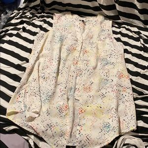 Maurice's button up blouse size medium